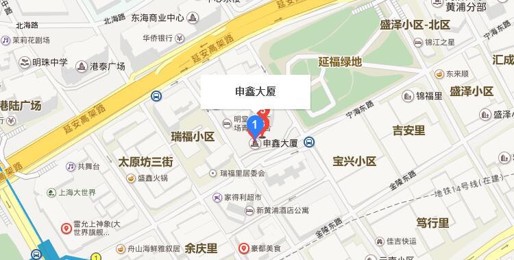申鑫大厦地址