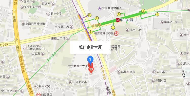 龙之梦雅仕企业大厦地址