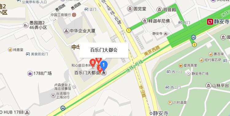 百乐门大厦地址