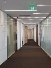 環球金融中心個室オフィス走廊